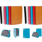 "Multi-Color Leather Folio Smart Case Cover Skin Stand for 7.85"" Tablet PC MID"