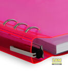 Clipbook by Filofax A5 size Translucent Notebook (refillable) - select colour