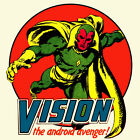 Vision Marvel Comics t shirt The Avengers Thor Captain America Hulk graphic tee
