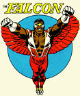 The Falcon tee shirt Retro vintage Captain America Marvel cotton graphic t-shirt