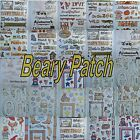 Beary Patch Paper Stickers & Titles Scrapbooking Embellishments You Choose $2.49 USD on eBay