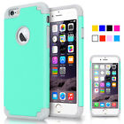 Shockproof Rugged Hybrid Rubber Hard Cover Case for Apple iPhone 6 / 6 Plus