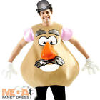 Licensed Mr Potato Head Adults Toy Story Fancy Dress Mens Costume Outfit