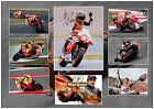 MARC MARQUEZ SIGNED MOTO GP MATTED MOTOR RACING PHOTOGRAPH