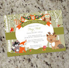 Woodland Shower - Forest Animals Baby Shower Invites- as low as .60 ea. shipped!