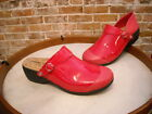 Rocky 4EurSole Fushia Pink Patent Leather 3 in 1 Work Comfort Clog Shoe NEW