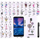 For Alcatel OneTouch Pop Mega LTE A995G D472 Cute Design HARD Case Cover + Pen