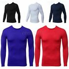 Sports Mens Compression Under Base Layer Skin Wear Top Tight Long Sleeve T-Shirt