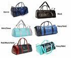 Head Retro Monte Carlo Ladies / Gents Leather Look Sports Bag Gym Travel Holdall