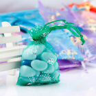 10- 500pcs Butterfly Organza Jewelry Pouch Wedding Party Favor Gift Bag 7X9cm FA