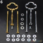 Pro Stunning 2 Or 3 Tier Plate Handle Fitting Hardware Rod Tool Cake Plate Stand