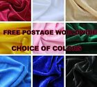 PLAIN THICK HEAVY CHENILLE VELVET FABRICS FOR CURTAINS/SOFA/CUSHION/UPHOLSTERY