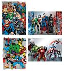 MARVEL & DC - A3 Metallic Foil POSTERS - Official (Room/Wall) Avengers/Justice
