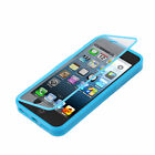 Deluxe Front&Back TPU Protective Dust Case For Apple iPhone 5 5G+BK Stylus