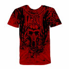 New Mens Tapout UFC MMA Manimal Half Man Half Wolf Cage Fighter T-Shirt New