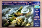 UM 1/72 107 WWII Soviet Dive Bomber Pe-2 with Shooting Plant VUB-1 (110 Seres)