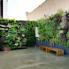 Vertical hanging wall garden 36/72Pockets planting bag Seedling Wall Planter 986