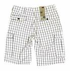 NEW LEVI'S MEN'S PREMIUM COTTON RELAXED FIT CARGO SHORTS WHI
