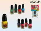 Peel Off Nail Polish Varnish - 10 Colours - Nails Beauty