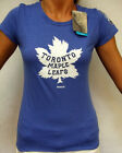 2014 Winter Classic Toronto Maple Leafs Womens Cap Sleeve T-Shirt