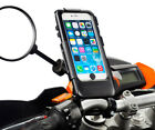 Motorcycle Bike 8-16mm Mirror Mount + Waterproof Case for Apple iPhone 6 Plus