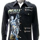 Sz S M L XL 2XL Metallica Justice Long Sleeve Shirt Punk Tee Many Size Jmt5