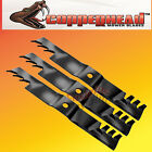 "Copperhead Commercial Heavy Duty Multch Blades 3 Blades  66"" Cut Lazer Z Triton"