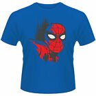 MARVEL COMICS SPIDERMAN Art Classic Mask T-SHIRT NEU