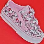 NEW Girl's Toddler's VANS HELLO KITTY Canvas/Suede Athletic Sneakers Shoes