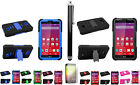 Stylus Pen+LCD Film+Side Stand Case Cover for LG Transpyre VS810PP Verizon Phone