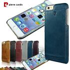 PIERRE CARDIN Genuine Leather Cover Hard Back Case For iPhone 6 Plus 5.5'' Inch