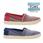 TOMS Womens Woven Avalon Slip On Pump Espadrilles Ink Tribal Size UK 4 UK 5.5