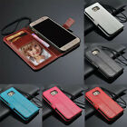 Leather Cover Case Flip Wallet Cover For Samsung Galaxy S6 Edge Tide NEW