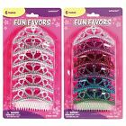 6 Rainbow Silver Hen Do Night Bride to be Tiara Dress Up Ladies Favour Plastic