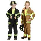 Firefighter Costume for Kids Fireman Suit Halloween Fancy Dress