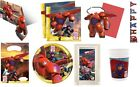 OFFICIAL - BIG HERO 6  KIDS BOYS PARTY RANGE ITEMS TABLEWARE - ALL IN 1 LISTING