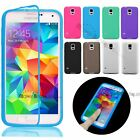 Thin Slim TPU Rubber Gel Silicone Flip Case Cover For Samsung S5 iPhone 6 6S