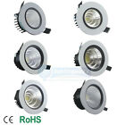 6W/9W/12W/15W/20W/30WCOB Recessed LED Angle Changeable Trim Ceiling DownlightE1A