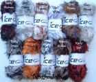 ICE YARNS FAUX FUR COLOUR - FURRY BULKY WOOL/YARN - 100g - TEDDY? - 11 COLOURS
