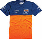 Fox Racing KTM Replica 2015 Tech Short Sleeve T-Shirt Navy/Blue/Orange