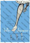 "Vintage Poster Art ""Belle Sharmeer"" Nylon Stockings Advert various size re-print"