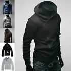 Warm Long Sleeve Men's Slim Fit Winter Hooded Coat Hoody Jumper Sport Coat