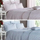 Catherine Lansfield Ditsy Duck Egg or Raspberry Duvet Quilt Cover Bedding Set