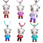 Fashion Women Stylish Jewelry Crystal Necklace Cute Cow Pendant Sweater Hot Gift
