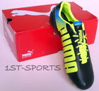 PUMA EVOSPEED 1.2  L FG MENS FOOTBALL BOOTS 102859 01 UK 7 to 9.5