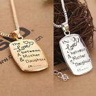 New The Love Between A Mother and Daughter Pendant Necklace Mother's Day Gift