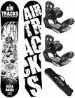 AIRTRACKS SNOWBOARD SET: PALETTE+BINDUNG SAVAGE W+SB BAG+PAD/140 145 150 155 cm/