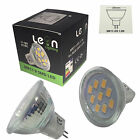 1 x MR11 12v LED 9 x 5630 SMD LEDs 11-18v AC DC = 10w - 20w Halogen Warm White