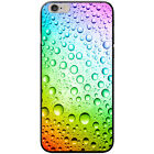 Coloured Water Droplets Hard Case For Apple Phone Models