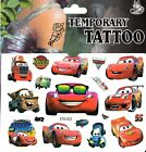 CARS DISNEY Temporary Tattoos Brand New and Fully Sealed